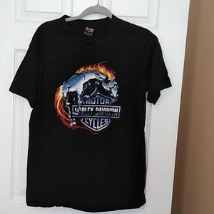 Men's Large SS Harley Davidson T-shirt Iron Horse